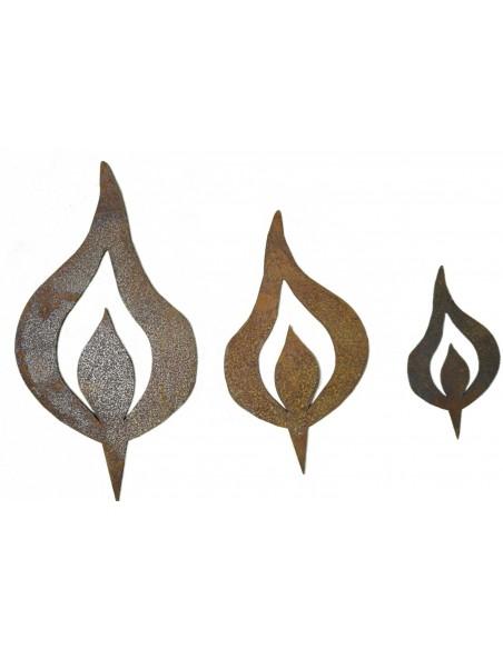 Große Auswahl an Rostflammen beim Metallmichl