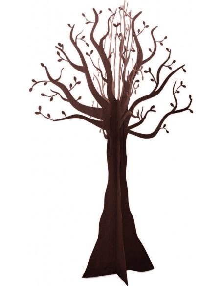 knorriger Baum aus schönem dunkelbraunen Edelrost