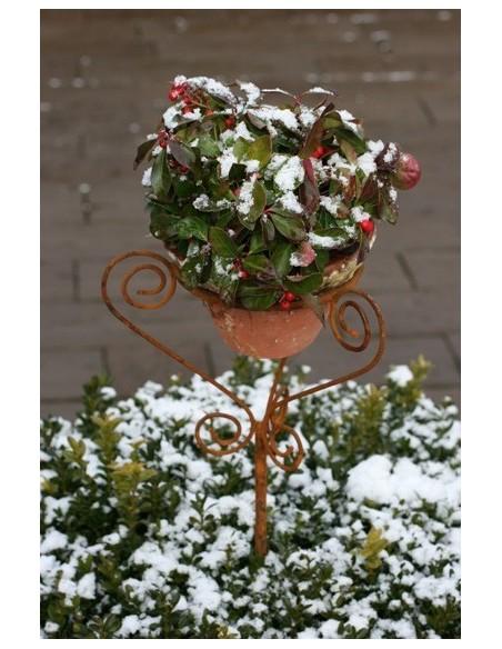 Blumentopf Halter -Florenz- auf Stab 120 cm hoch