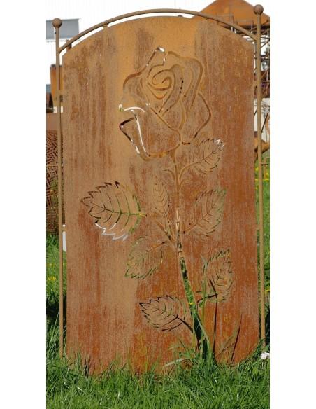 Rose Sichtschutz Garten zum Stecken - 140 cm Hoch