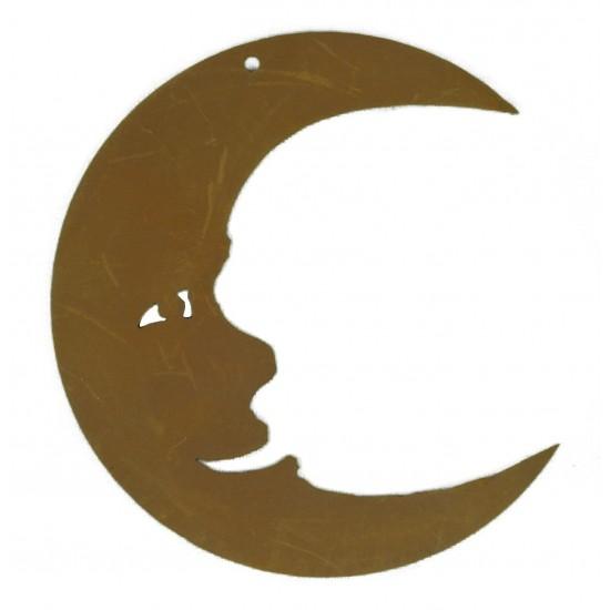 Christbaumschmuck Mond, 8 cm hoch