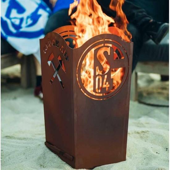 Schalke Fanshop Feuerkorb kaufen