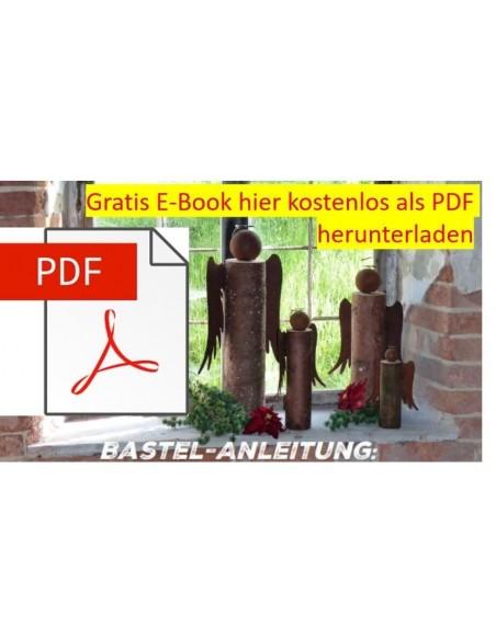 Engelsflügel Bastelset Holzengel basteln mit Anleitung