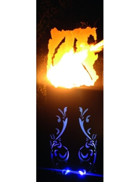 Feuer + Pflanzsäule