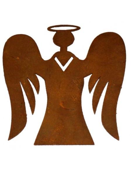 Engelfigur Rostig
