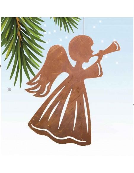Engel bläst Horn - Weihnachtsbaum Deko