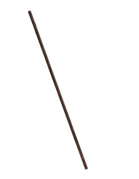 Eisenstange rund als Zubehör für Sichtschutzwände und Gartenstecker - Länge 80 cm/ Materialdicke 8 m