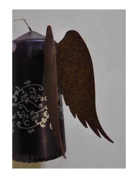 Metall Flügel für Kerze