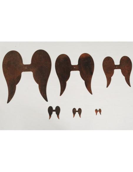 "Flügel zu Engel ""Adad"" 1, Höhe 2,5 cm, Breite 2,5 cm"
