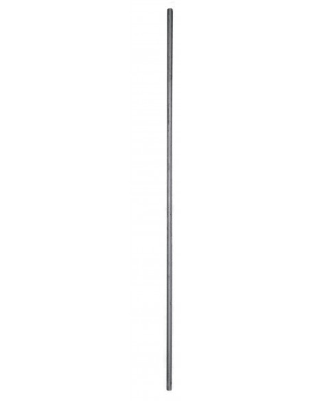 120 cm Eisenstange für Sichtschutzwand - Materialdicke 18 mm