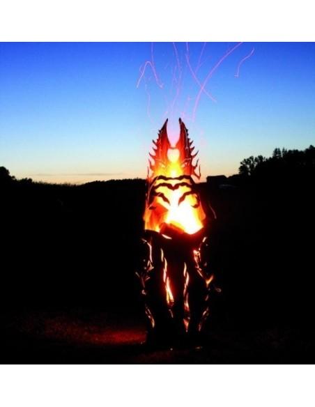Feuerdrache klein 123 cm hoch