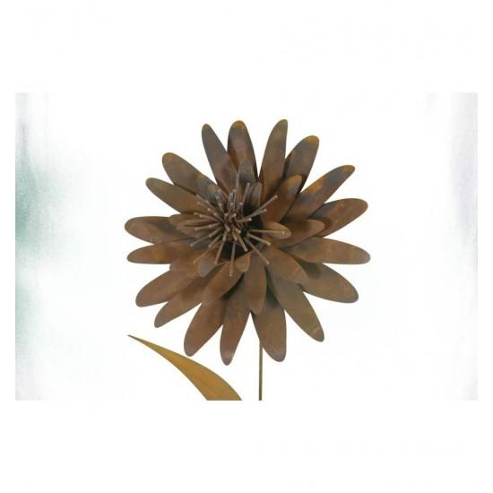 XL Blume zum Stecken auf Stab