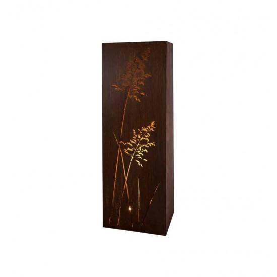 Grassäule eckig, Höhe 150 cm