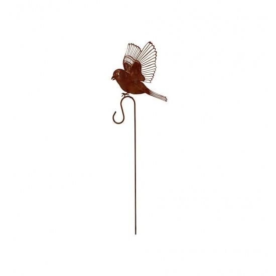 Dompfaff, fliegend auf Curlstab 100cm