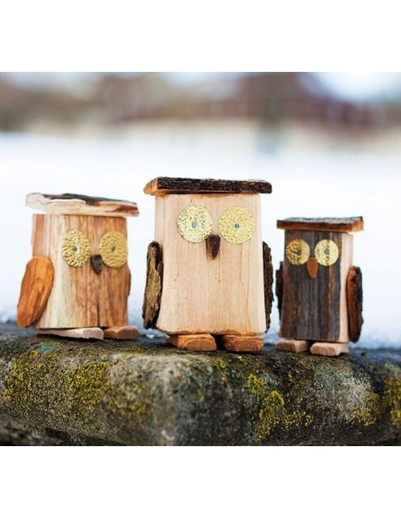 Bastelideen Buch Winterliche Holzfiguren
