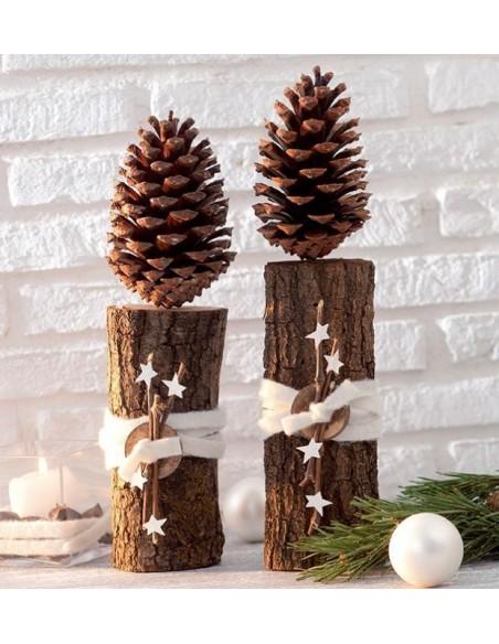 Bastelideen - Natürlich schöne Weihnachtszeit-  Kreativbuch für Narurholzmaterialien