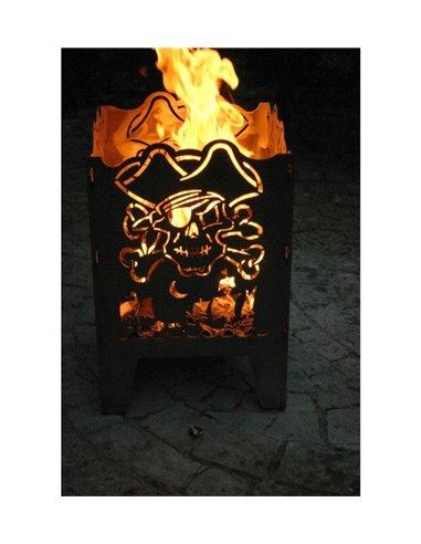 SvenskaV Feuerkorb L Pirat 47 cm hoch
