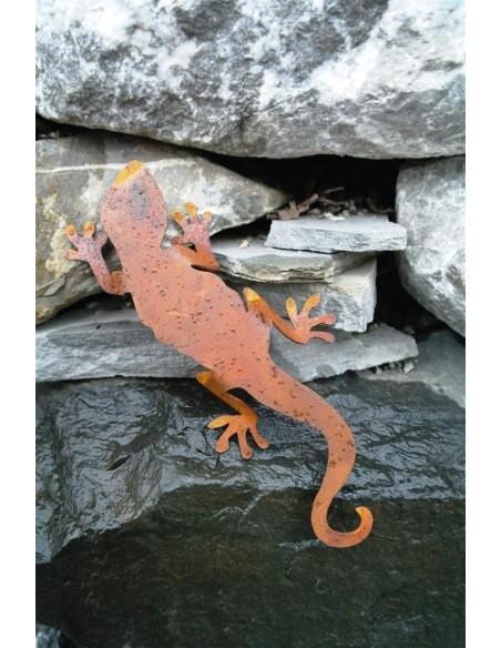 Rost Salamander - Edelrost Eidechse, Länge 20 cm