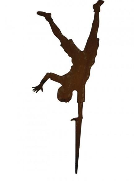 Handstand auf einer Hand Figur Vorlage Übung