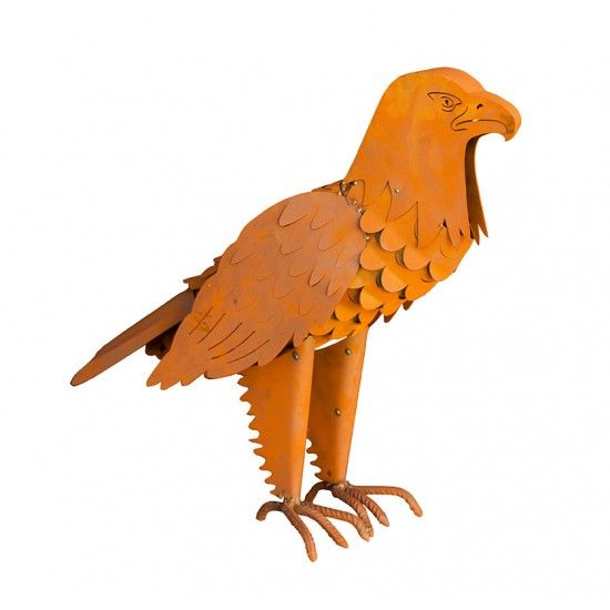 Edelrost Adler - 3D - Höhe 60 cm