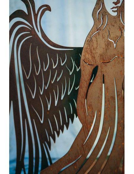 Weihnachtsengel Belladonna - mit anschraubbaren Flügeln - Höhe 122 cm