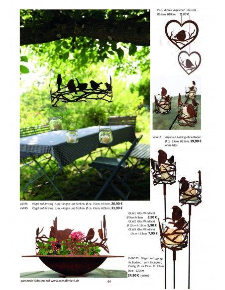 Frühling / Ostern Edelrost Deko Katalog 2019 gratis mit tollen Gartendeko Rost Ideen   Momentan als Print vergriffen! Bitte n