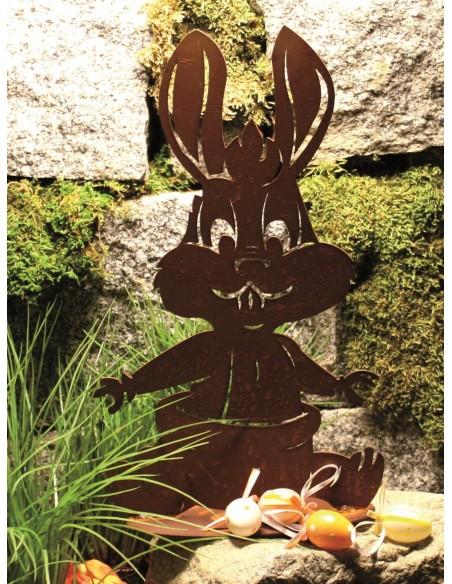 Hasen Lustiger Edelrost Babyhase, Höhe 30 cm Edelrost Babyhase für Ostern Unser lustiger Babyhase ist eine schöne Osterdeko und