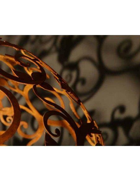 60 cm Kugeln Barockkugel 60 cm  sehr aufwändig geschnittene Barockkugel Durchmesser 60 cm, zweiteilig aus 2 Hälften muss zusa