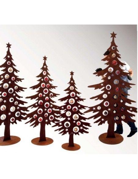 XXL Bäume ab 120 cm Dekotanne 200 cm hoch für Christbaumkugeln  Höhe 200 cm Breite 100 cm Tiefe 24 cm Gewicht 22 cm Ø Stand