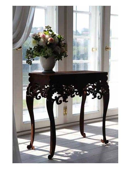 """Tische, Stühle und Möbel Tisch - Barock - hoch, H 97 cm, B 71 cm, T 40 cm Tisch """"Barock"""" Höhe 97 cm, Breite 71 cm, Tiefe 40 c"""
