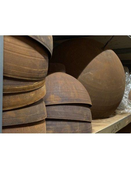 runde Pflanzschalen Halbkugelschale 60 cm Ø - große runde Pflanzschale modern und mediterran Schöne Pflanzschale aus einer Halbk