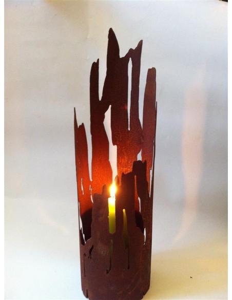 Kerzenhalter Treibholz Optik