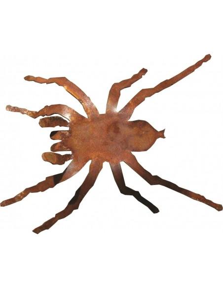 Deko Spinne als Gartendekoration Figur