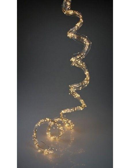 LED Lichterkette warmweiß Outdoor mit 180 Lichter ca. 2 m Länge