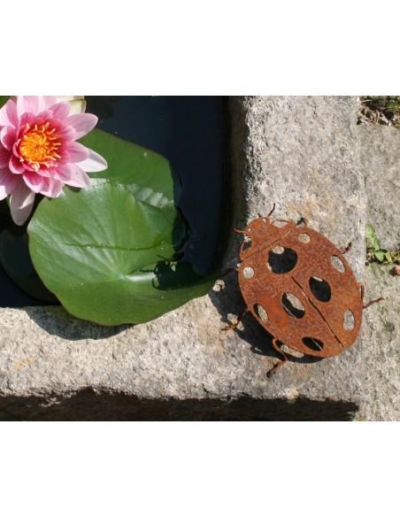 Gartendeko Käfer frühling