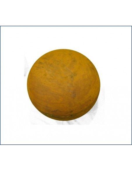 Sommer Kugel Edelrost 30 cm Durchmesser  geschlossene Edelrost Kugel mit 30 cm Durchmesser Materialstärke 1,5 mm Gewicht 2,5