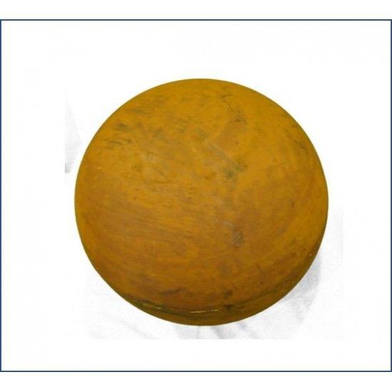 50 cm Dekokugeln in Rost Optik Kugel Edelrost 50 cm Durchmesser geschlossene Edelrostkugel 50 cm Durchmesser mit einer speziel