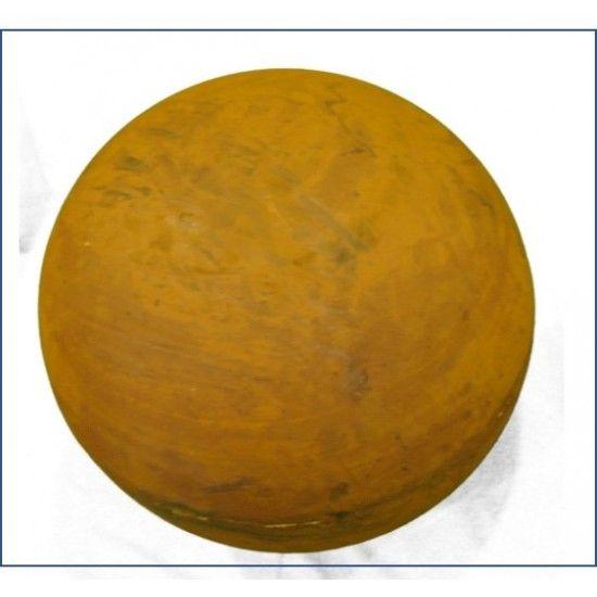 Sommer Ø 60 cm Deko Kugel aus Edelrost geschlossen   Massive Edelrost Deko Kugel geschlossen ohne Muster Ø 60 Durchmesser mi