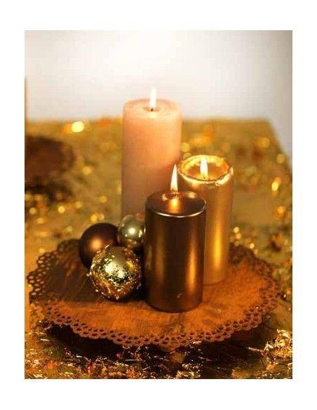 ausgefallene Tischdekoration  Kerzen Untersetzer Ø ca.30 cm Spitzendeckchen als Tablett Spitzendecke als Kerzenuntersetzer auf 3