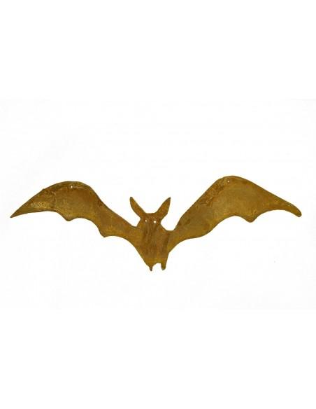 flatternde Fledermaus Metall Deko Halloween Garten