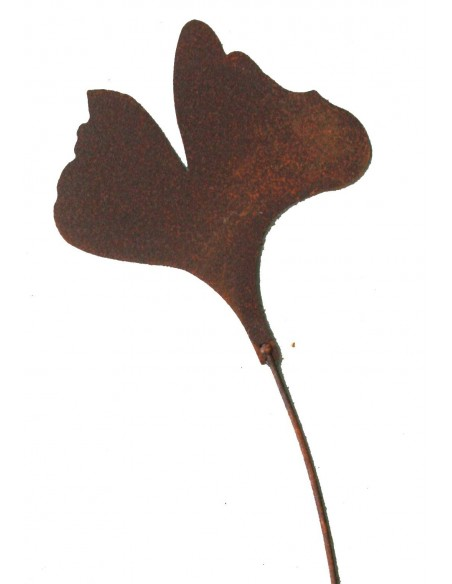 Gartenstecker Ginkgoblatt