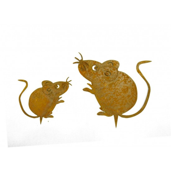Tierfiguren Set Mäuse zum Stecken
