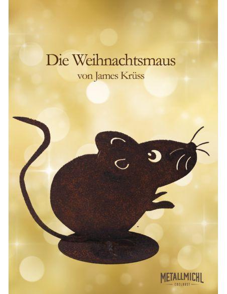 Edelrost Mäuse Maus in Edelrost Groß 10 cm Die rostige Weihnachtsmaus! Das Original H: 10cm Mausw in Edelrost / rostige Maus /