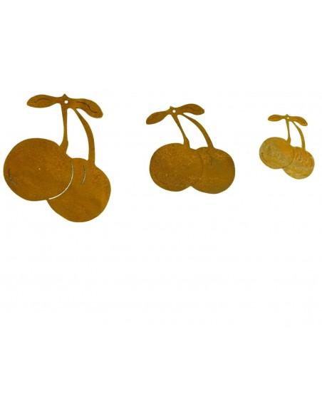 Kirschen aus Metall als Herbstdeko