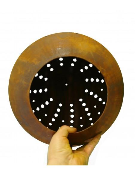 30 cm Kugeln Kugel ganz Ø 30cm mit Pünktchenmuster u. Öffnung - Dots  Kugel ganz, Ø 30cm mit Pünktchenmuster u. Öffnung unten
