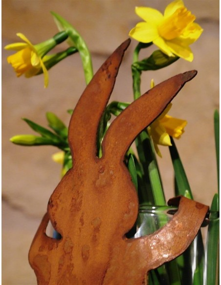 Hasen Häschen - Bunny - kletternd 30 cm hoch zum Einhängen Höhe 30 cm unser kletterndes Häschen findet immer einen Platz bei Ih