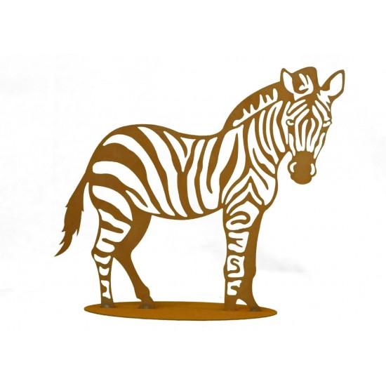 Zebra Gartendeko Afrika