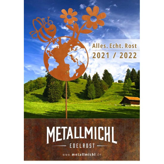 Weihnachtsdeko Metallmichl Deko Katalog 2021 - Gartendeko - Sichtschutz und Kostenloser Gartendeko Katalog vom Metallmichl für d
