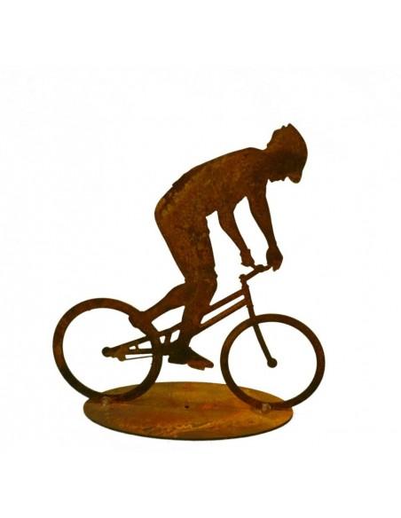 Gartendeko Rost Mountain Bike Fahrrad