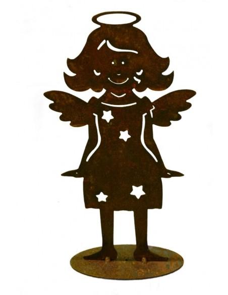 Weihnachtsdeko Engel mit Sternenkleid
